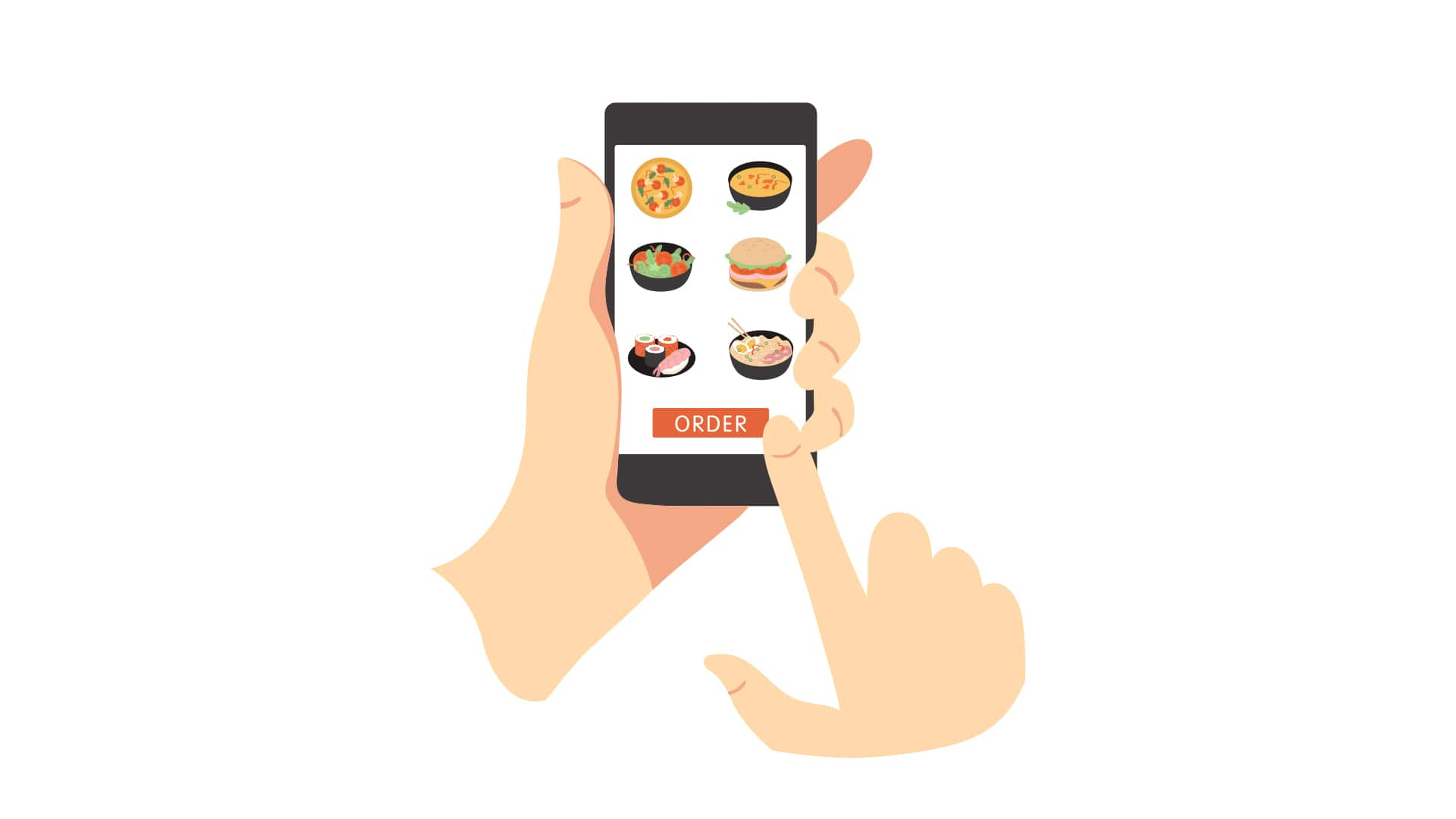 Contactless mobile ordering